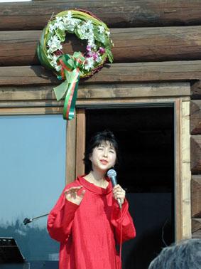 千本桜プロジェクト第1回植樹会・しらいみちよ記念コンサート