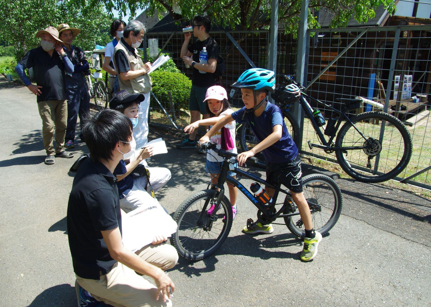 MTB トレイルコース オープニングイベント
